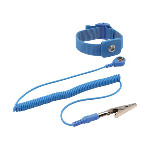 Velleman AS3 Blue Anti-Static Elastic Wrist Strap