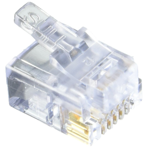Platinum Tools 100009C EZ-RJ45 Cat6 Connector (Pack of 10)