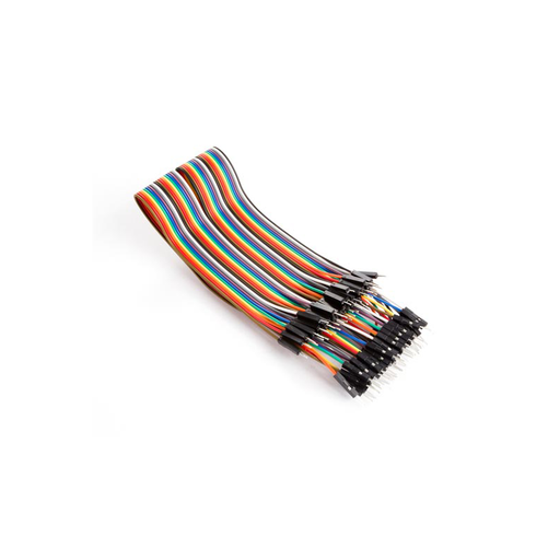 Velleman VMA413 Breadboard Jumpers, 2.54mm, Male to Male