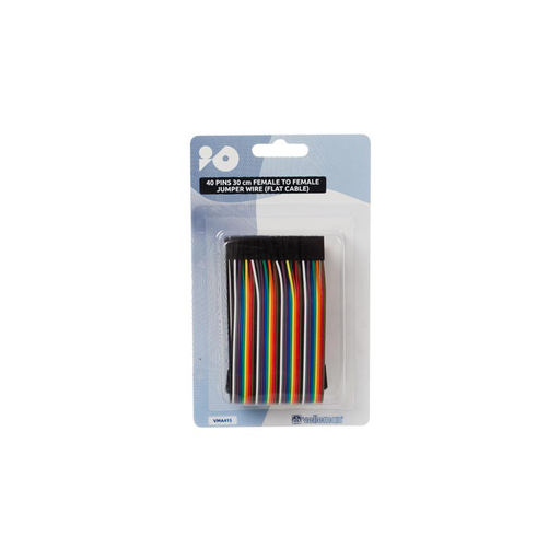 Velleman VMA415 Breadboard Jumpers, 2.54mm, Female to Female