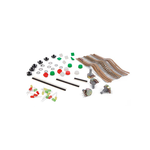 Velleman VMA505 Resistor Accessories Kit + Clear Plastic Box