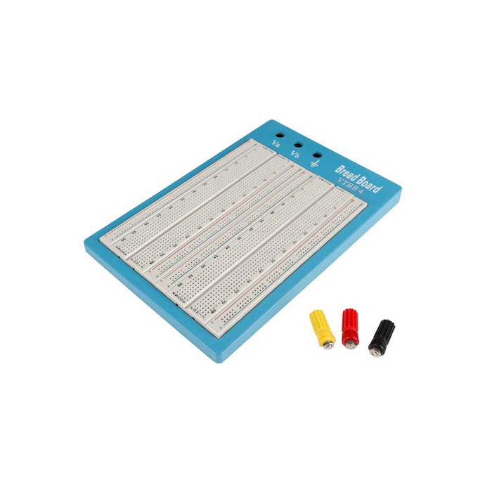 Velleman High-Quality Breadboard - 1680 Holes for Prototyping. VTBB4
