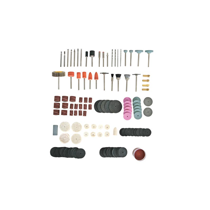 Velleman VTHDS6: Ultimate Drill & Grinder Accessories Set - 188 Pieces
