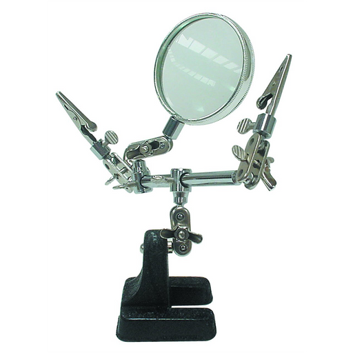 Velleman VTHH Dual Helping Hand + Magnifier