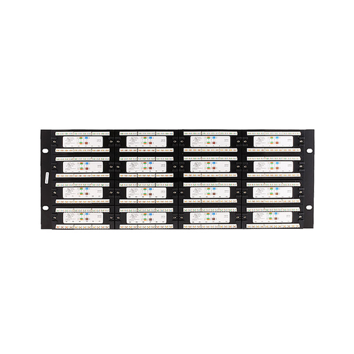iStarUSA WA-PP96-C6 96 Ports 4U Cat6 Patch Panel