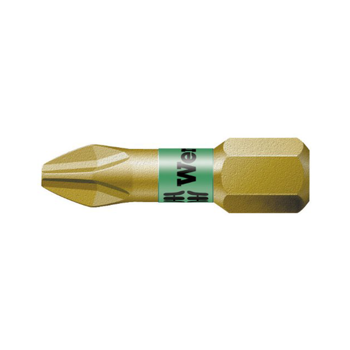 Wera 05056410001 #1 x 25mm Phillips BiTorsion Bit