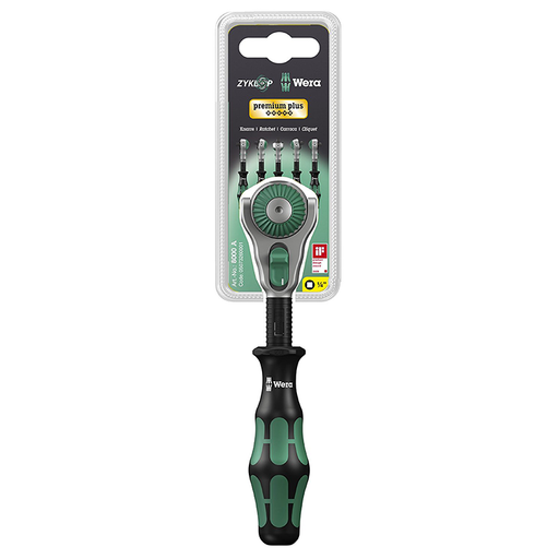 Wera 05073260001 8000 A Zyklop Speed Ratchet 1/4""