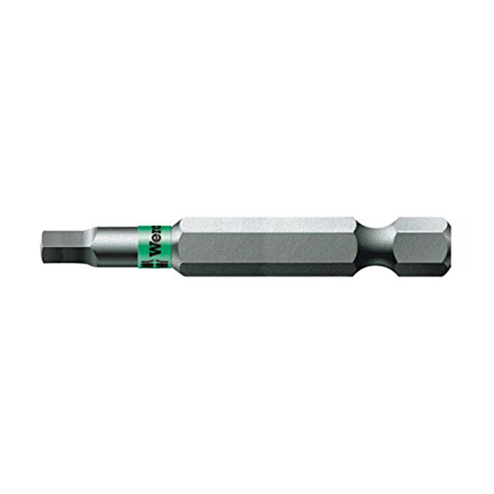 Wera 05060149001 #3 x 50mm Square BiTorsion Power Bit