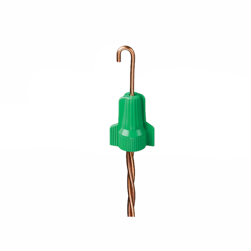 Ideal WGR-B Wing-Twist Grounding Connector, WGR, Green, 250/Box