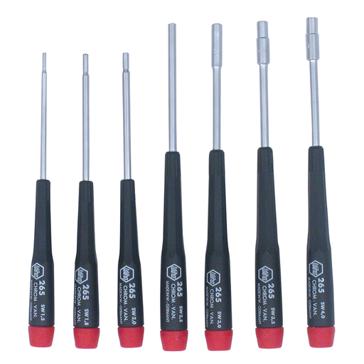 Wiha 26592 7 Piece Precision Metric Nut Driver Set