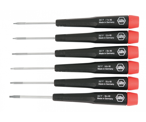 Wiha 26794 6 Piece Precision Pentalobe Screwdriver Set