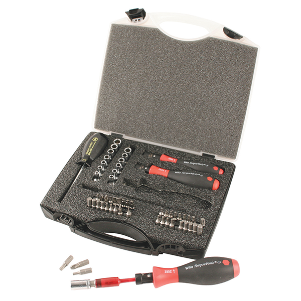Wiha 28689 TorqueControl 59 Piece Bit Set Nm.