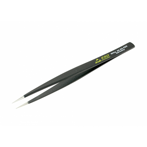 Wiha 44501 130mm Universal Fine Point AA SA Tweezers