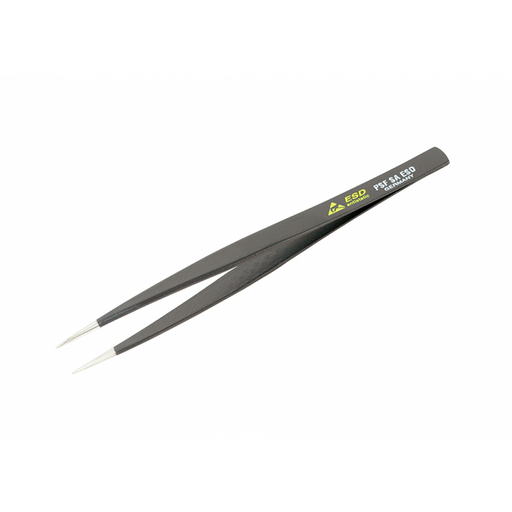 Wiha 44523 125mm Long Rounded to 1mm Wide No Serration PSF SA Tweezers