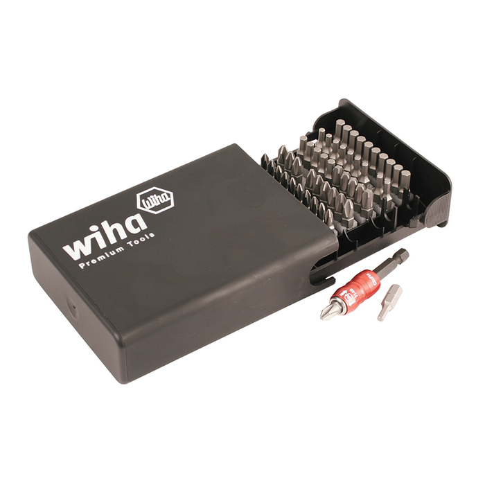 Wiha 71095 Phillips/Hex SAE Bits Collector, 51 Piece