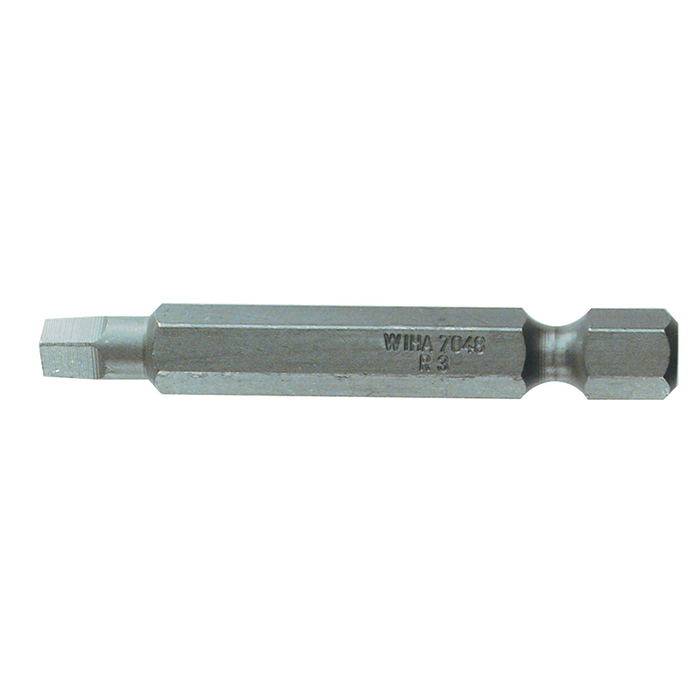 Wiha 74813 #1 x 50mm Square Power Bit, 10 Pack