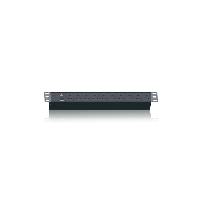 iStarUSA WM1545-PD10 15U 450mm Depth Wallmount Server Cabinet with 10 Outlet Overload Protection PDU