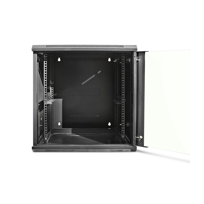 iStarUSA WMZ1255-SFH25 12U 550mm Depth Swing-out Wallmount Server Cabinet with 1U Tray