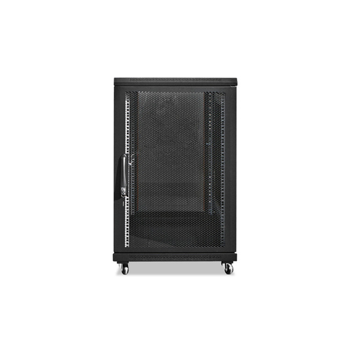 iStarUSA WNG1810-SFH25 18U 1000mm Depth Rack-mount Server Cabinet with 1U Supporting Tray
