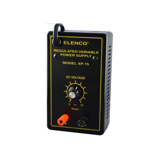 Elenco XP‑15K Variable Voltage Power Supply Kit