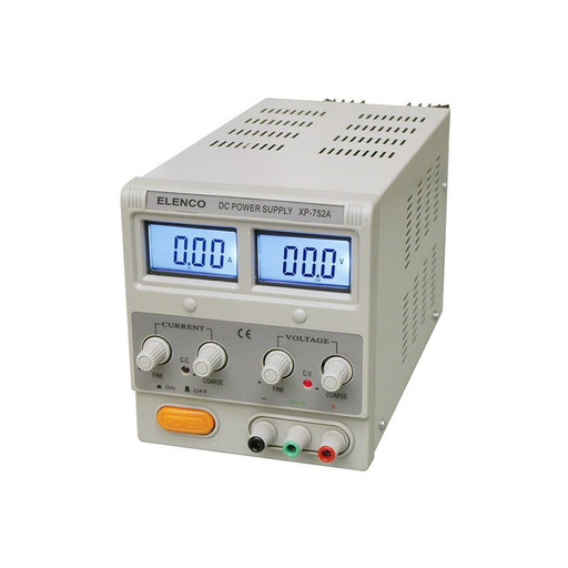 Elenco XP-752A 050VDC @ 3A LCD Display