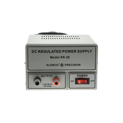 Elenco XR-38 Regulated 13.8V @ 3A