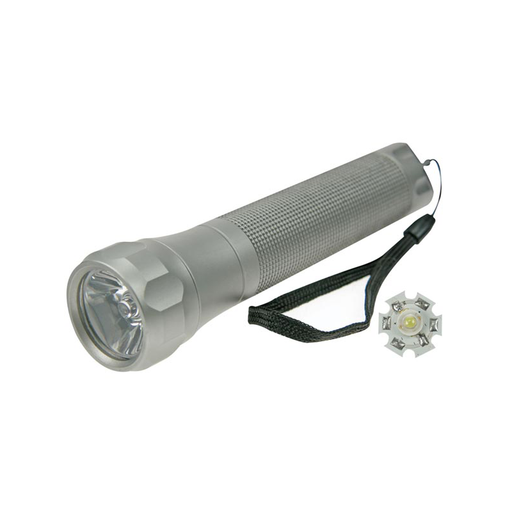 Velleman ZLL113/3W LED Torch - 3W - Aluminium Housing