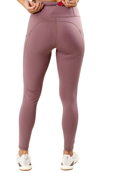 Women's Purple Cute and Comfortable Athletic Legging