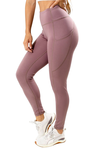 Purple Premium Quality Athletic Leggings for Women