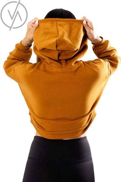 Women's Rust Pullover with Hood