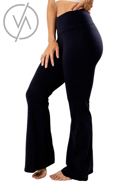 Women's Black Stretchy Athletic Yoga Pant