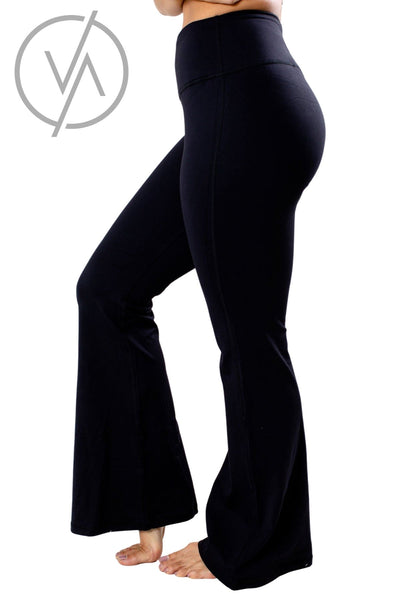 Black Cute and Comfortable Athletic Yoga Pants for Women