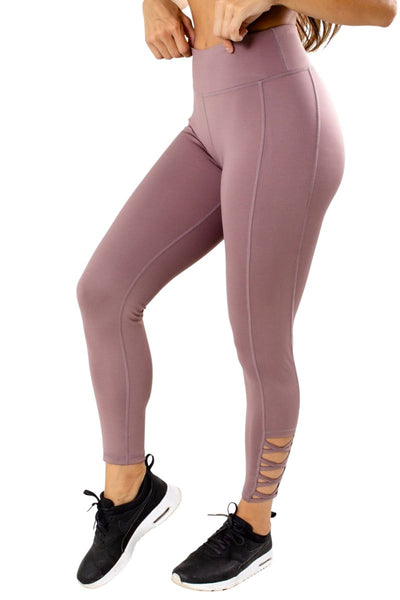 Women's Purple High Impact Activity Athletic Legging
