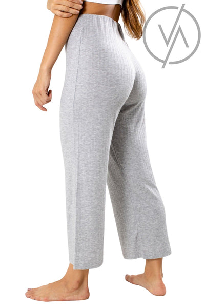 Women's Gray Cropped Length Athletic Pant