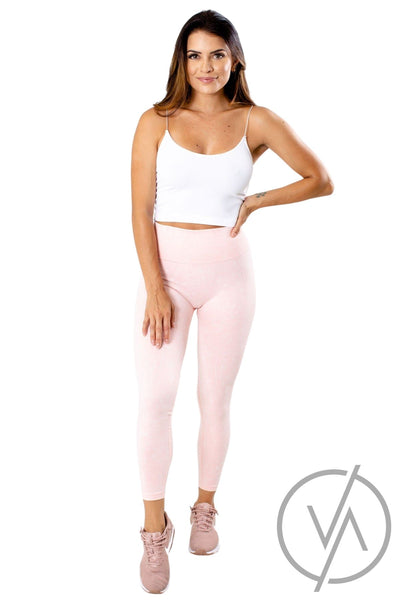 Women's Pink Cute and Comfortable Athletic Legging