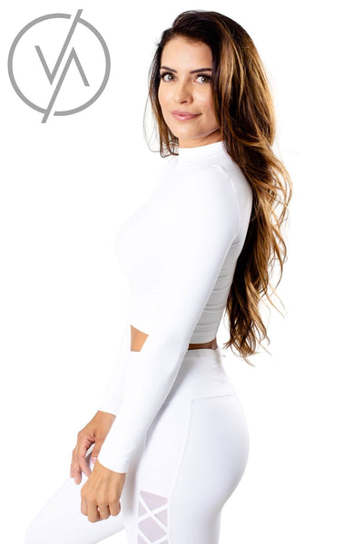 White Affordable Online Athletic Clothing for Women