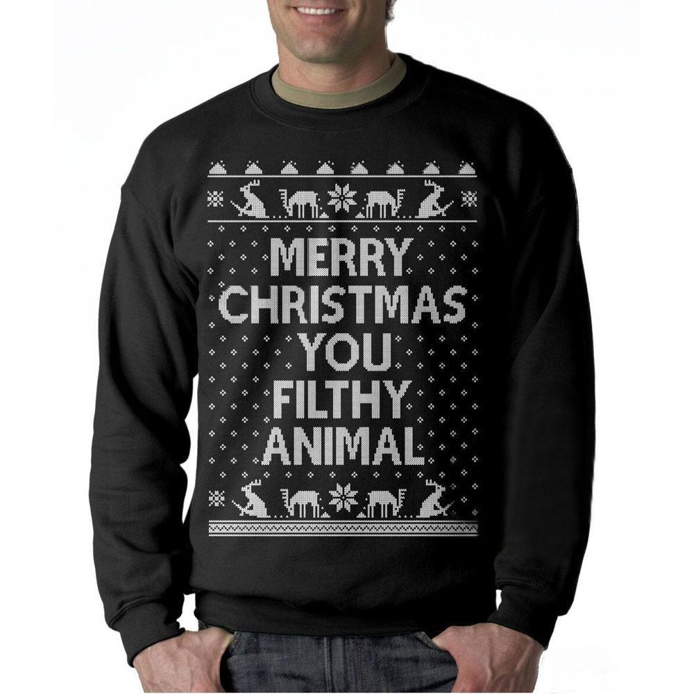 Introvert Merry Christmas Casual Sweatshirt