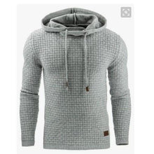 Load image into Gallery viewer, Casual  Plaid Jacquard Military Long Sleeve SweatShirt Hoodies