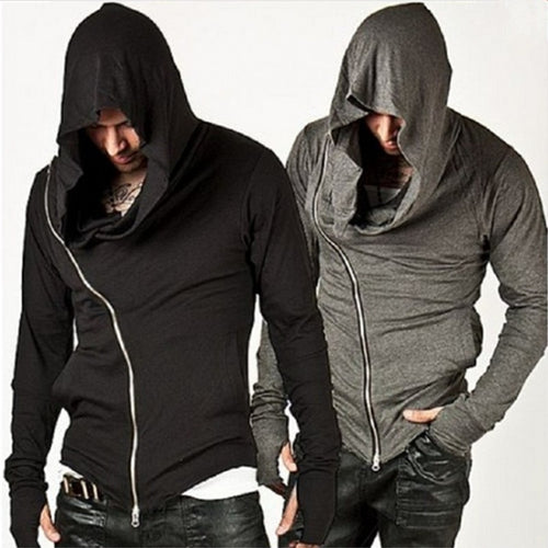 Long Sleeve Creed Zippe Hoodie