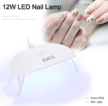 Load image into Gallery viewer, LED UV Nail Polish Dryer Light