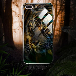 Luxury 3D Animal Pattern Printed Case For iPhone