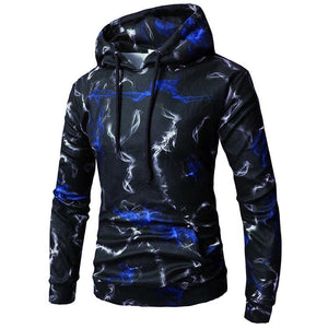 3D Graphic Pullover Men Sweatshirt