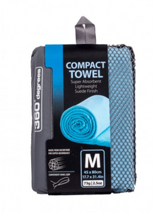 360 DEGREES COMPACT MICROFIBRE TOWELS