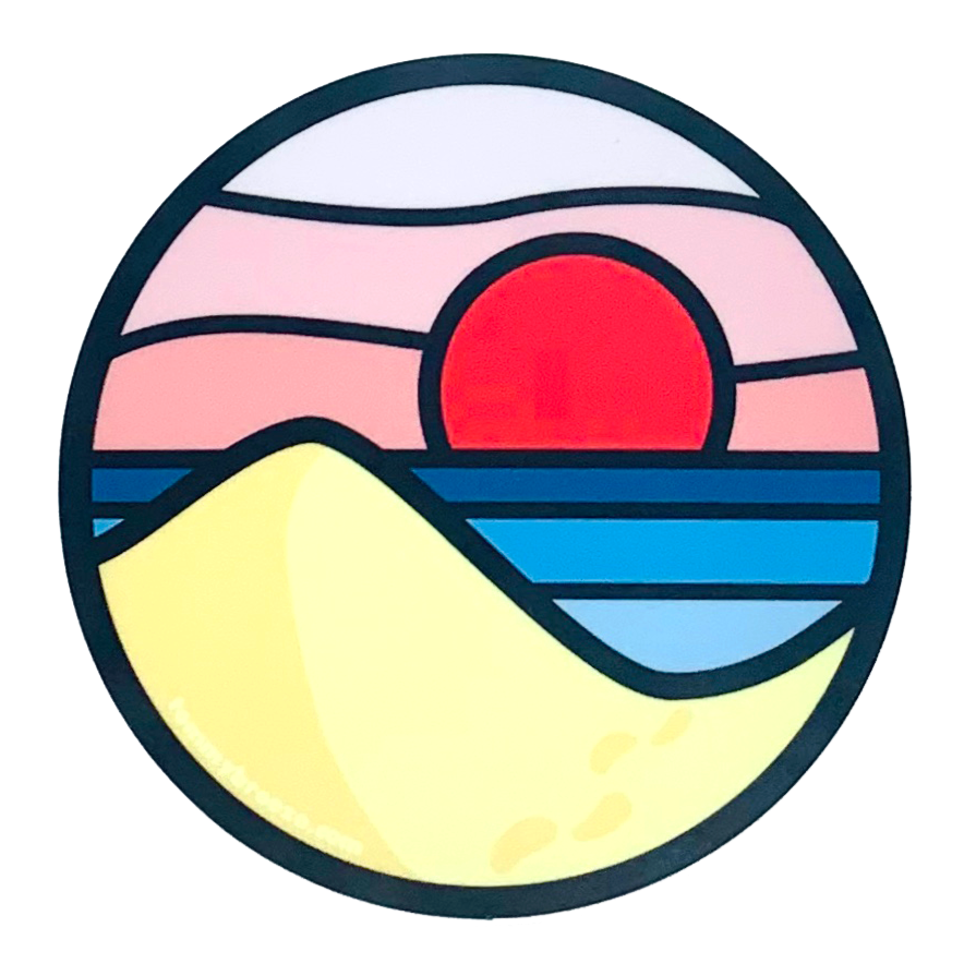 Beach Day Sticker