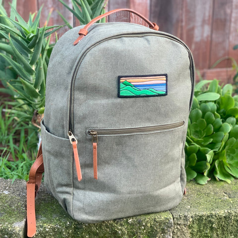 Tommy Breeze Backpack (Moss Green)