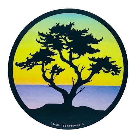 Cypress Sticker