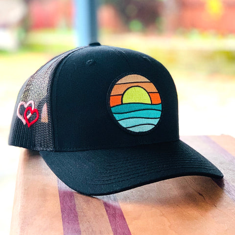Valentine's Edition Trucker (Black) with Serenity Patch