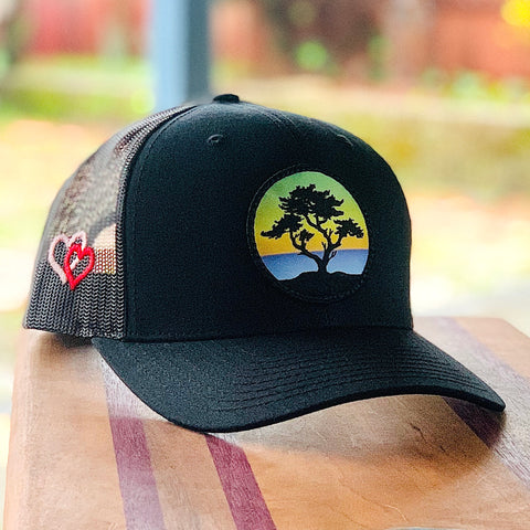 Valentine's Edition Trucker (Black) with Cypress Patch