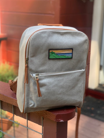 Customized Backpack (Grey)