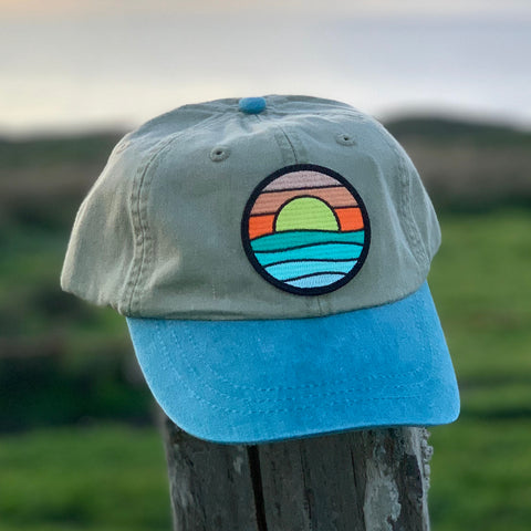 Classic Soft-top (Natural/Teal) with Serenity Patch